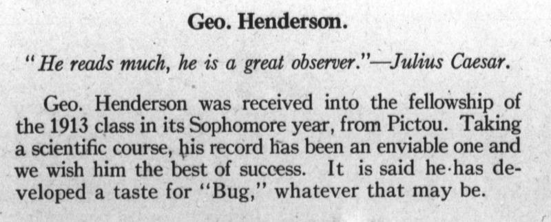 Geo. Henderson