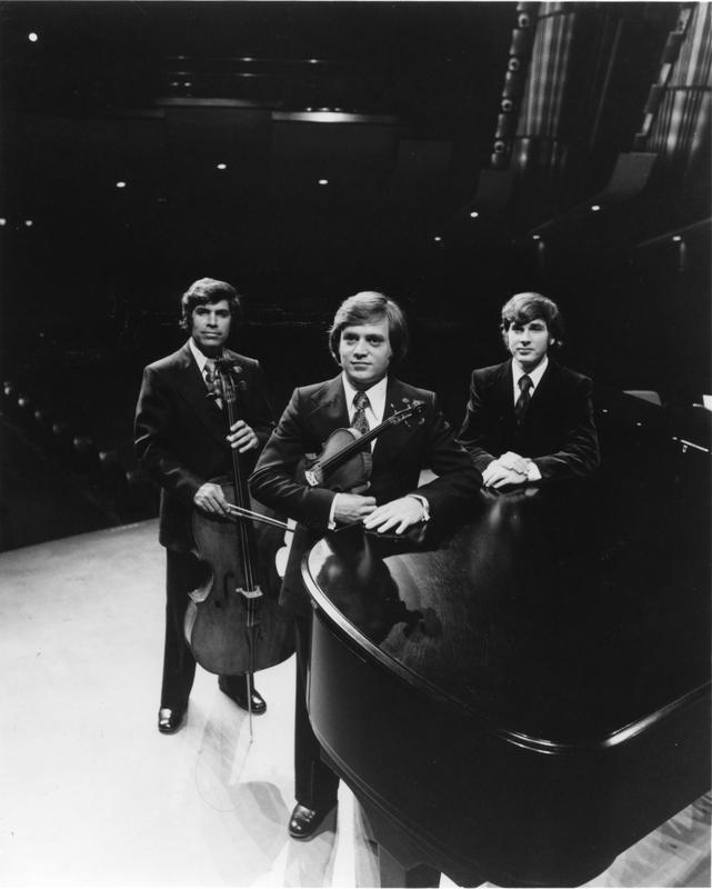 Photograph of the Dalart Trio