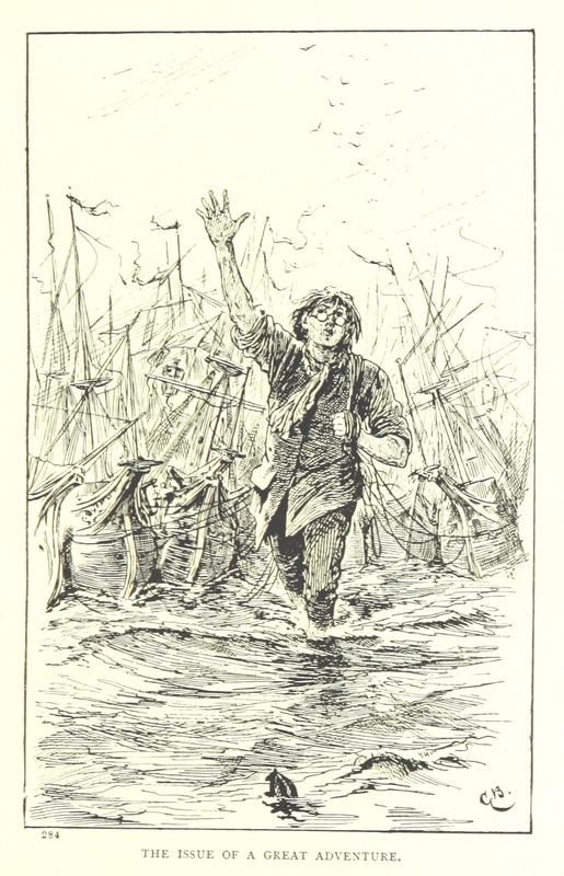 Illustration from Jonathan Swift's Gulliver's Travels