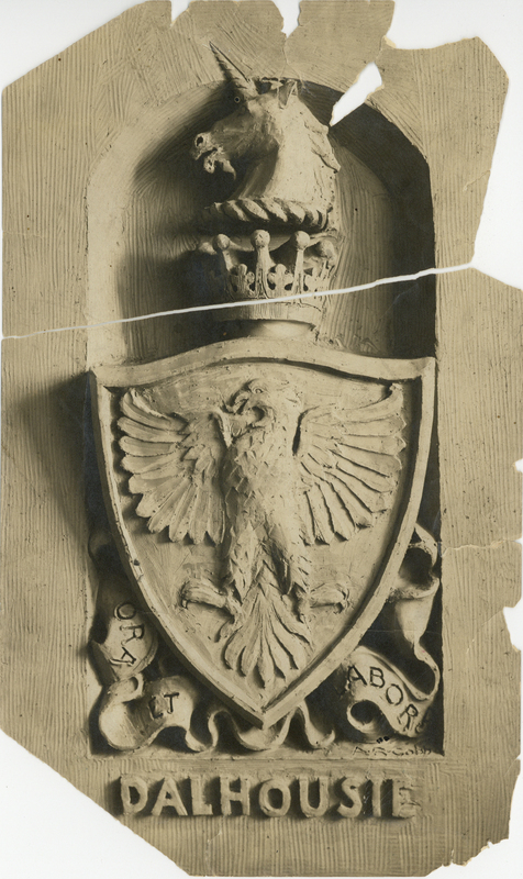 Photograph of the arms of Dalhousie
