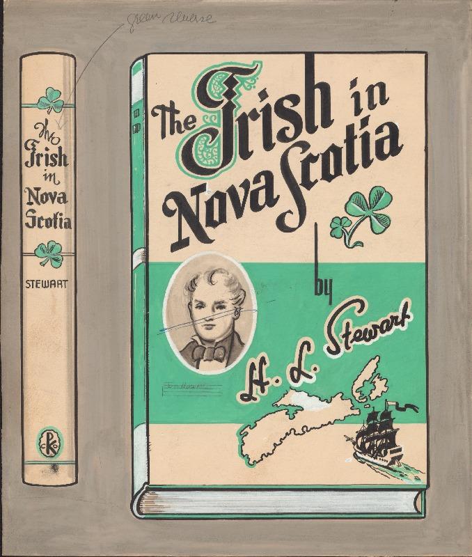 Irish in Nova Scotia book cover art