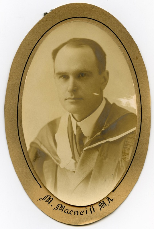Photograph of the Murray Macneill