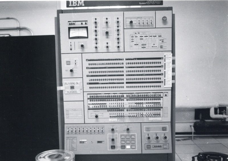 Photograph of an IBM System/360 computer