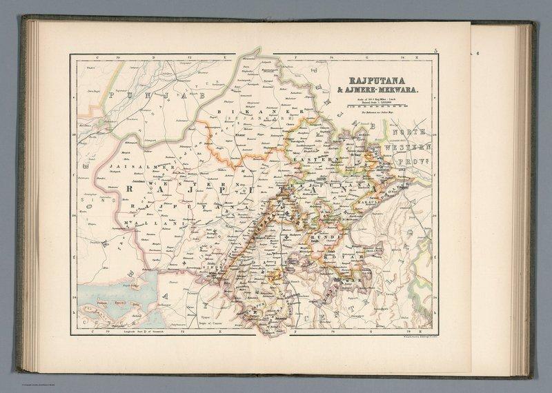 Nineteenth century Rajputana