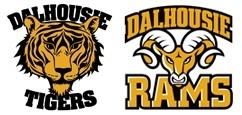 The Dalhousie Tigers and Dalhousie Rams logo