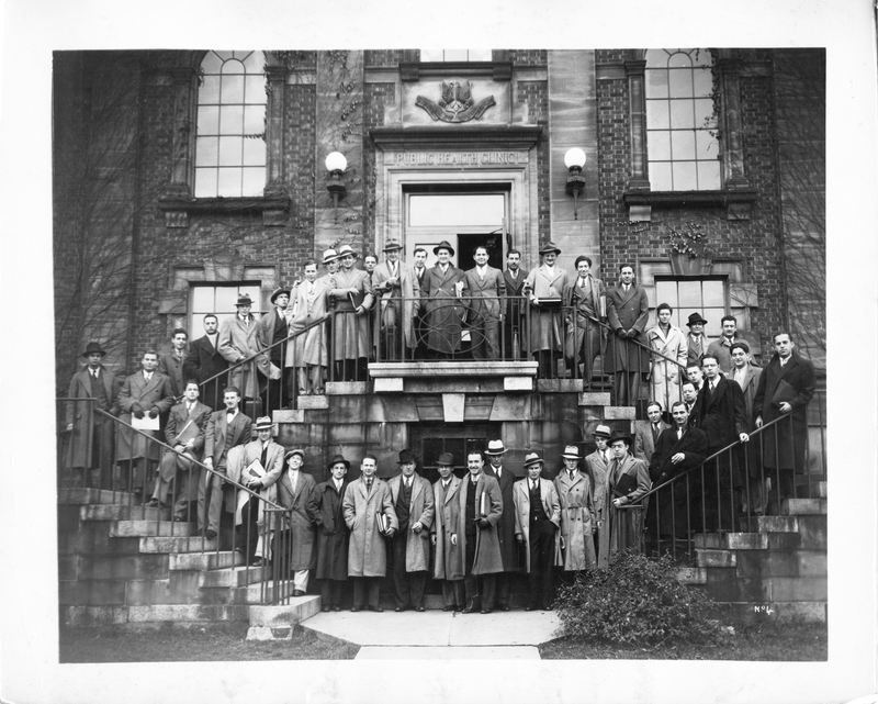 Photograph of the third year medicine class of 1937