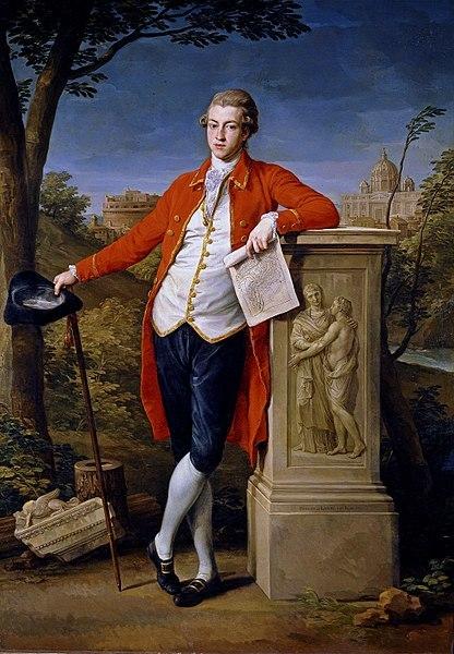 Portrait Francis Basset, 1st Baron de Dunstanville and Bassett