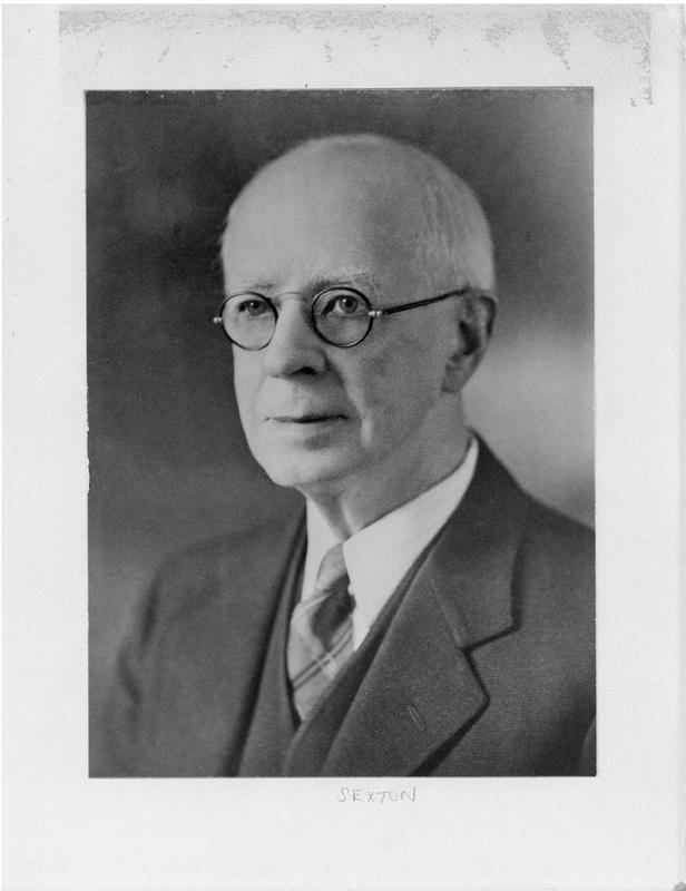 Photograph of F.H. Sexton