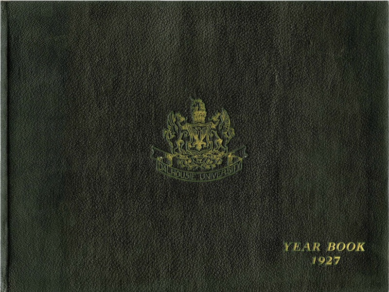 Cover of the Dalhousie University Yearbook 1927
