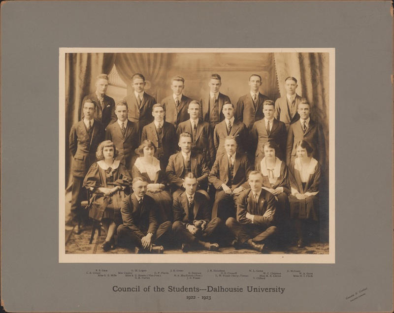 Photograph of Council of the Students - Dalhousie University
