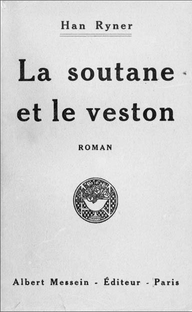 Book cover: La soutane et le veston