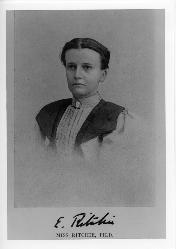 Photograph of Eliza Ritchie