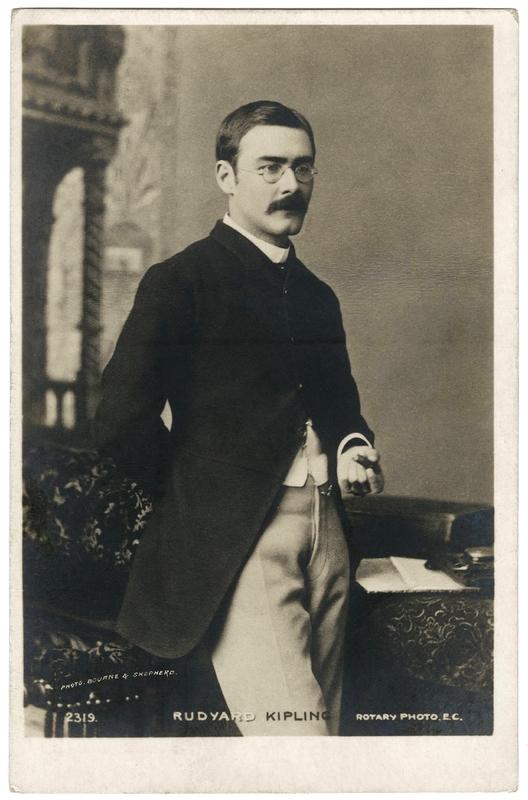 Portrait of Rudyard Kipling, 1892