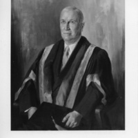 Photograph of a painting of Dr. Alexander Enoch Kerr
