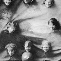 Photograph of Dalhousie girls basketball team