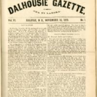 Dalhousie Gazette, Volume 6, Issue 1
