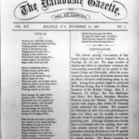 The Dalhousie Gazette, Volume 14, Issue 1