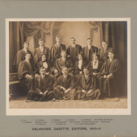 Photograph of Dalhousie Gazette Editors