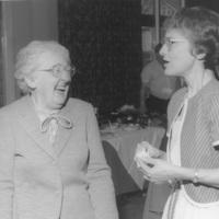 Photograph of Electa MacLennan and Ruth May