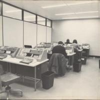 Photograph of computer centre in the Killam Memorial Library