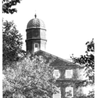 Photograph of the Arts and Administration building from Coburg Road