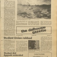 Page 1 of the Dalhousie Gazette, Volume 109, Issue 18