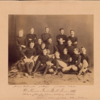 Photograph of Dalhousie Football Team - 1887