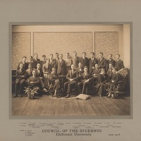 Photograph of Council of the Students 1925-1926