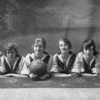 Photograph of Dalhousie girls' basketball team