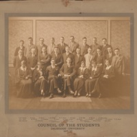 Photograph of Council of the Students 1926-1927