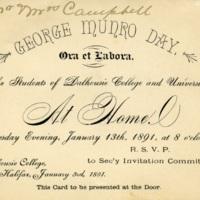 Invitation to Munro Day Celebration