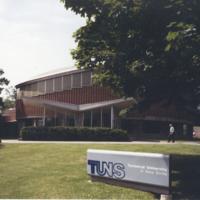 Photograph of the F. H. Sexton Memorial Gymnasium