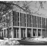 Photograph of the Weldon Law Building exterior