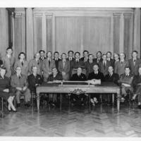 Photograph of the Dalhousie University Senate members