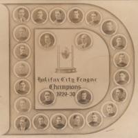 Composite Photograph of Halifax City League Champions - 1929-30