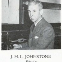 Photograph of J. H. L. Johnstone