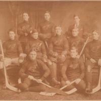 Photograph of Dalhousie Hockey Team