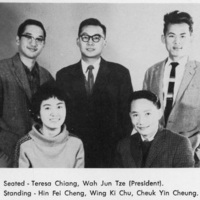 Photograph of the Chinese Students' Association