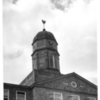 Photograph of the Arts and Administration building tower