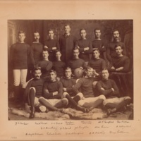 Photograph of Dalhousie Football Team - 1886