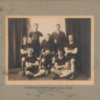 Photograph of Dalhousie Senior Basket Ball Team