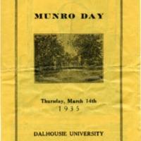 Munro Day program