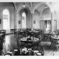 Photograph of the Shirreff Hall dining room