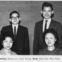 Photograph of the Chinese Students' Society