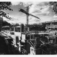 Photograph of the Killam Memorial Library construction