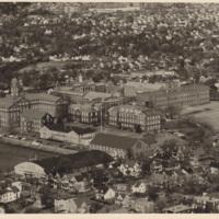 Aerial photograph of Dalhousie University Campus