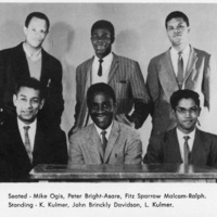 Photograph of the West Indian steel band