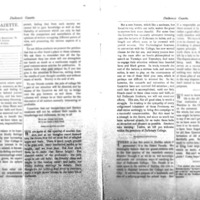 Pages 8-9 of the Dalhousie Gazette, volume 11, issue 1