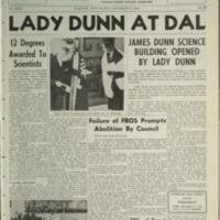 The Dalhousie Gazette, Volume 93, Issue 5