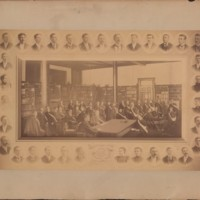 Composite photograph of class of 1896